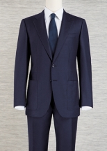 three piece suit - two buttons